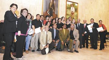 Celebracion 50 aniversario de Comedia Nacional de Nicaragua. Managua 24 de noviembre de 2015. FOTO LA PRENSA/Lissa Villagra
