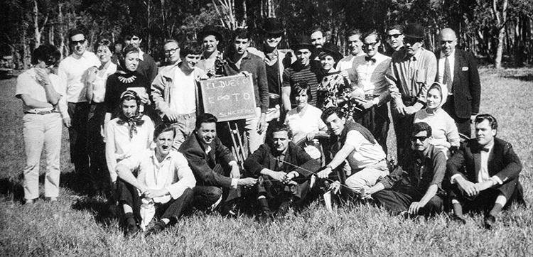 """Año 1966 Equipo de Rodaje """"El Duelo"""""""