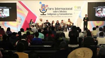foro medios indígenas