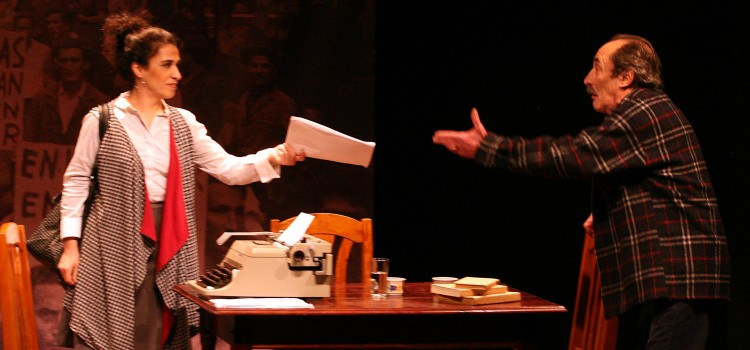 Porto Alegre - RS, 22.09.2010 Apresentação da peça uruguaia Cueston de principios. Local: Instituto Goethe End.: Rua 24 de outubro  Foto: Ivo Gonçalves/PMPA