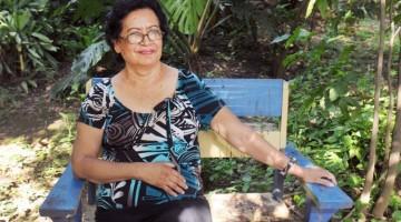 Masaya 08 de agosto de 2012. Entrevista a Ana Ilse Gomez, poeta nicaraguense. Carlos Herrera / La Prensa