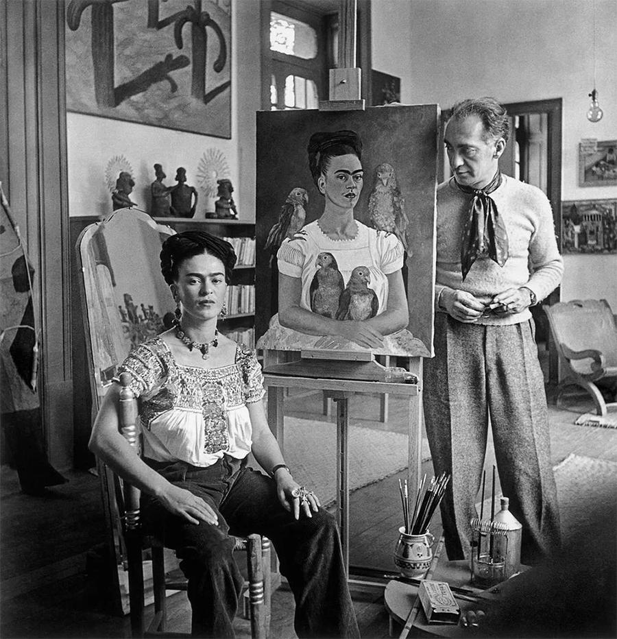 Frida y fotografo