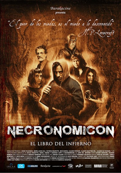 afiche Necronomicón